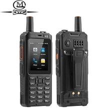 IP68 Waterproof Mobile Phone 4000mAh Zello Walkie Talkie 4G GPS rugged Smartphone Android 6.0 MTK6737M Quad Core Dual SIM F40