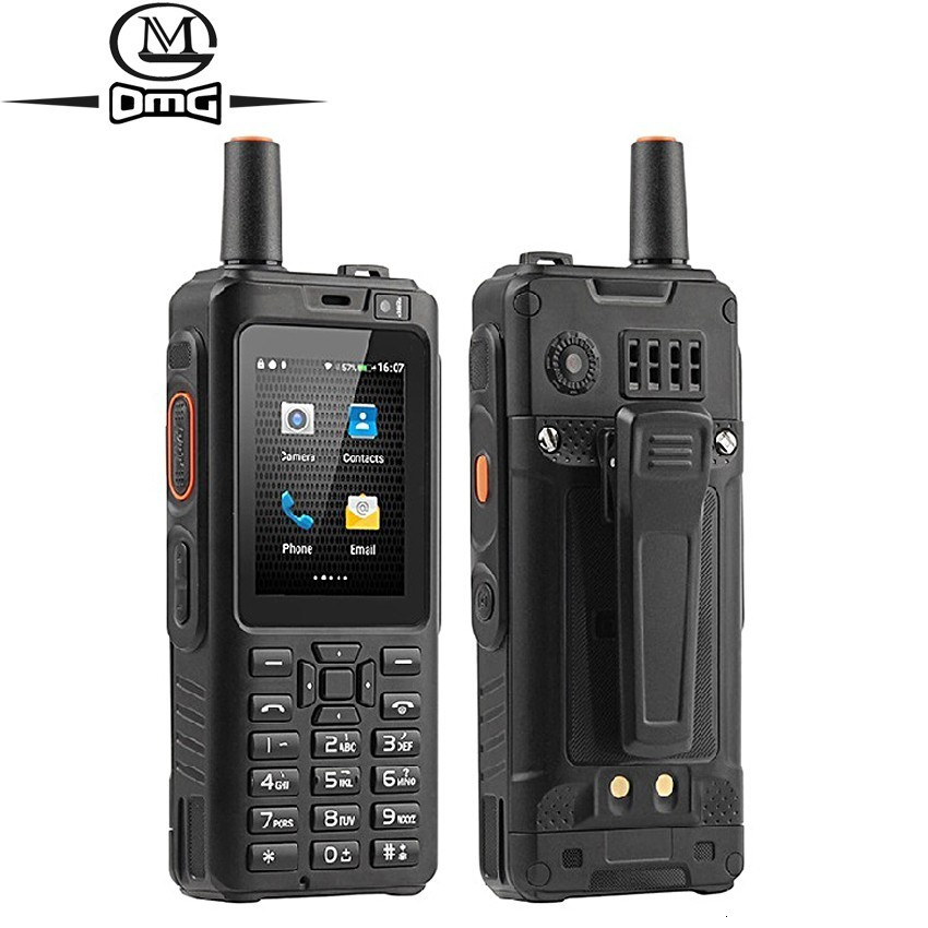 Téléphone portable antichoc 4000mAh Zello talkie walkie 4G GPS Smartphone robuste Android 6.0 Quad Core double SIM F40 téléphone portable - 1