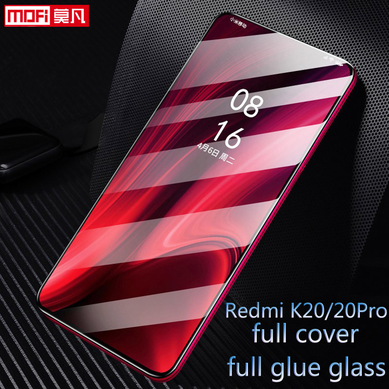 Image 1 - Xiaomi Redmi K20 Tempered Glass Full Cover Mofi Original Ultra Thin Protective Film Xiomi Redmi K20 Pro Screen Protector Glass-in Phone Screen Protectors from Cellphones & Telecommunications