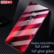 Xiaomi Redmi K20 Tempered Glass Full Cover Mofi Original Ultra Thin Protective Film Xiomi Pro Screen Protector