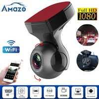 HD 1080P Wifi tableau de bord caméra Dvr tableau de bord caméra FHD Dvr enregistreur Wifi g-sensor Gps Mini tableau de bord caméra nuit enregistreur