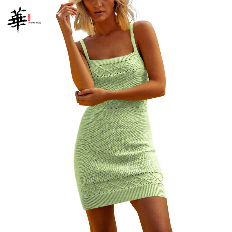 Chic Sleeveless Mini Bandage Dress Women Jacquard Summer Backless Dresses Party Short Sexy Dress for Women Holiday Plus Size 3XL image