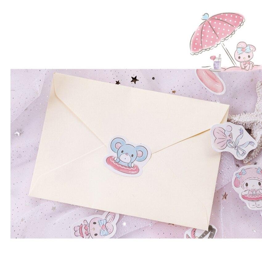 seaside férias encaixotado adesivo decoração diy scrapbooking adesivos de papelaria