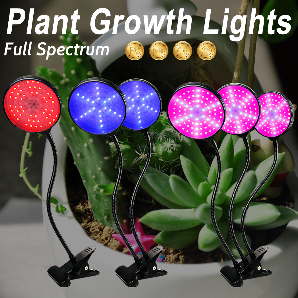 LED Full Spectrum Growing Lamps USB LED Grow Light Fitolampy Light Bulbs For Plant Growth Indoor Plants Flowers Seedling Phyto