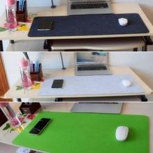 цена Large Felt Cloth Mouse Pad Non-slip Mouse Pad Mouse Mat for Office desk pad R9CB онлайн в 2017 году