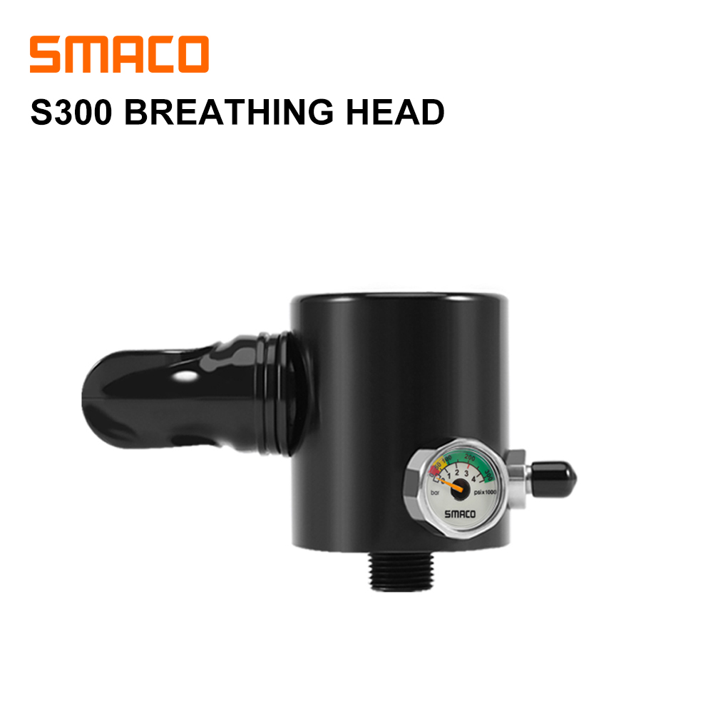 SMACO Diving Equipment Mini Scuba Diving  Oxygen Cylinder Head Parts