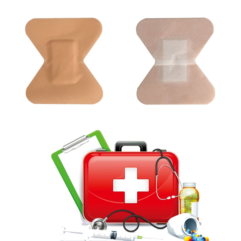 10PCS Butterfly Type Fingertip Stickers Band-aid Wound Dressing Stickers Outdoor First-aid Supplies Joint Stickers PE Material