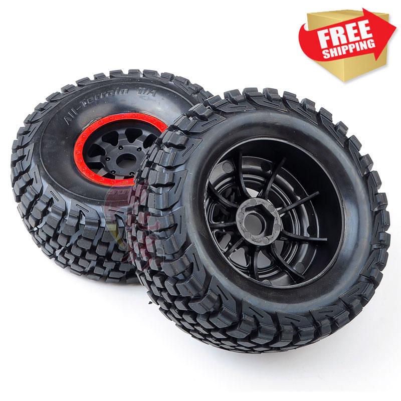 RC Parts UDR Traxxas 85076-4 FS 1/8 Desert Short Course Truck Tyre Tire Set One Pair Option Parts