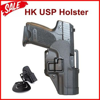 Tactical Combat HK USP Pistol Holster Right Hand Gun Carry Case Quick Drop Hunting Shooting Belt For Compact - discount item  43% OFF Hunting