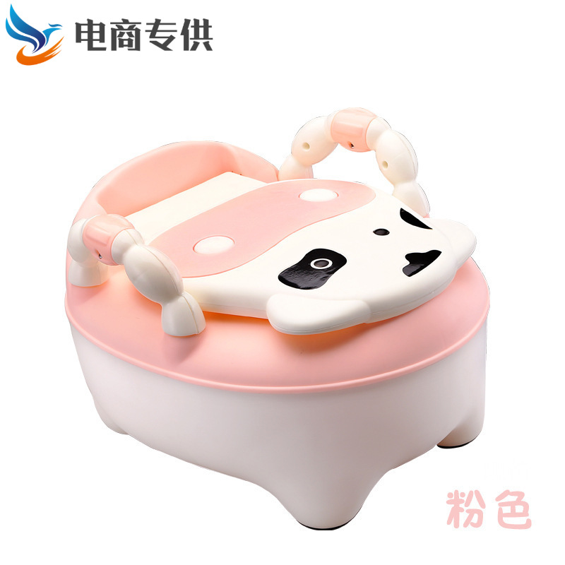 Children Cow Toilet Potty China Mobile Infant CHILDREN'S Toilet Baby Toilet Stool Basin Chamber Pot Bidet