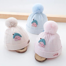 New Baby Cartoon Cute Hats Autumn Winter Hat For Baby Warm Thicken Caps Newborn Baby Boys Girls Cap 0-3 Months 2019 winter baby hats cartoon cotton sweet baby hat for girls boys newborn baby little yellow duck cap girls baby accessories