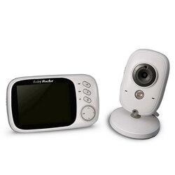 Video Monitor de bebé VB603 2,4G inalámbrico 3,2 pulgadas LCD de 2 vías de Audio conversación de visión nocturna Video Nanny baba eletronica babyfoon