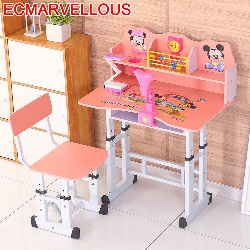 Dla Dzieci Cocuk Masasi Baby Child Children Escritorio Scrivania Bambini Adjustable For Enfant Mesa Infantil Kids Study Table