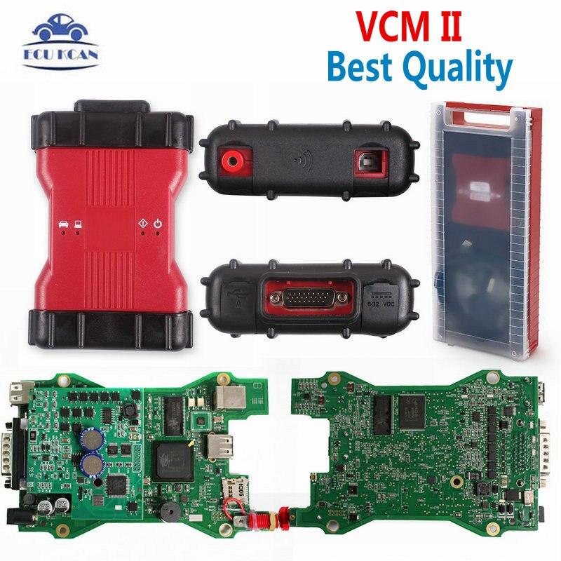 Best Quality VCM II V101 Version F-ord VCM 2 Diagnostic Tool Support Vehicles IDS VCM2 OBD2 Diagnostic Scanner
