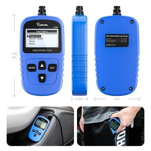 VD10 Scanner de Código EOBD Leitor de Código de Auto Ferramenta de Diagnóstico Do Motor Do Carro de Apoio Datastream PK ELM327 Accessoriess Carro