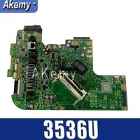 ET2321 GM uniwersalna płyta główna do asusa ET2321 ET232 Mianboard (3536U 2 rdzenie) DDR3 100% Test Ok w Płyty główne od Komputer i biuro na