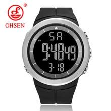 OHSEN Men Sports Watch Men's Luxury Brand 5Bar Waterproof
