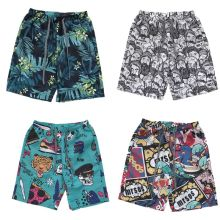 Mens Plus Size Quick Dry Trunks Tropical Leaf Cartoon Graphic Print Surfing Beach Shorts Summer Holiday Drawstring Pants drawstring graphic print stretchy swimming trunks