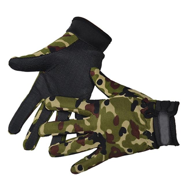 Summer Man Tactical Gloves Lightweight Breathable Riding Gloves Bicycle Non-slip Full Finger Half Finger Gloves Fishing 1