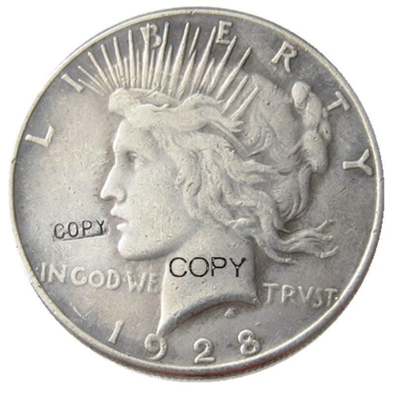 Монета с посеребренным покрытием 1928 доллара