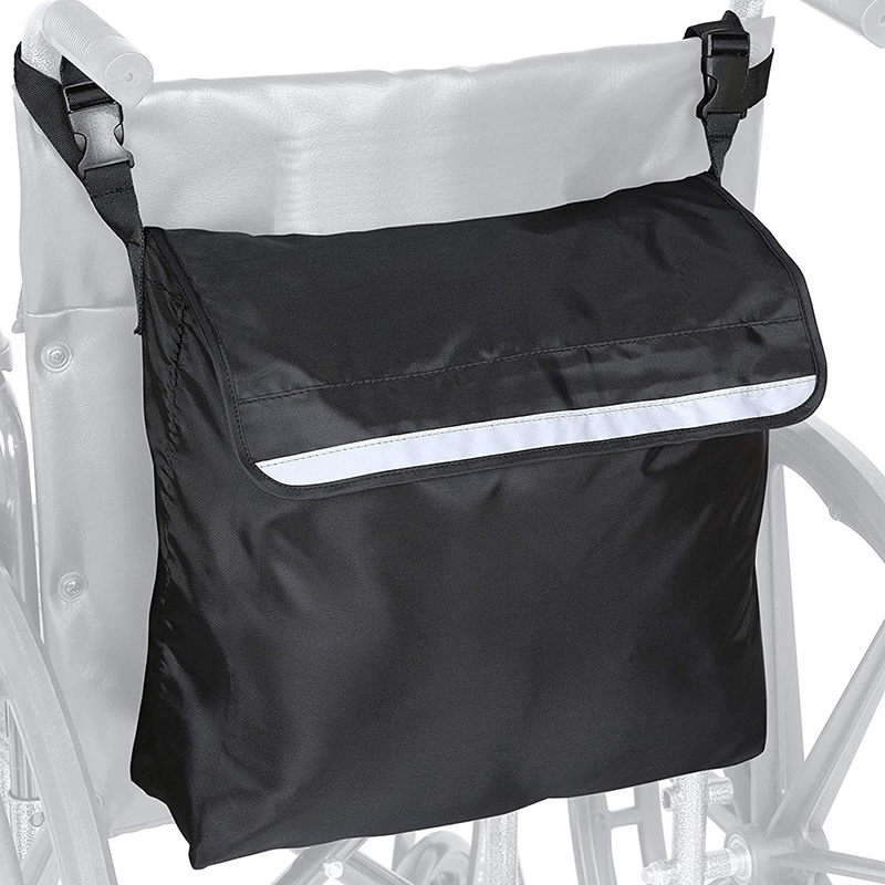 Wheelchair Bag Outdoor Portable Wheelchair Backpack Shopping Storage Scooter Walker Frame Storage Handbags