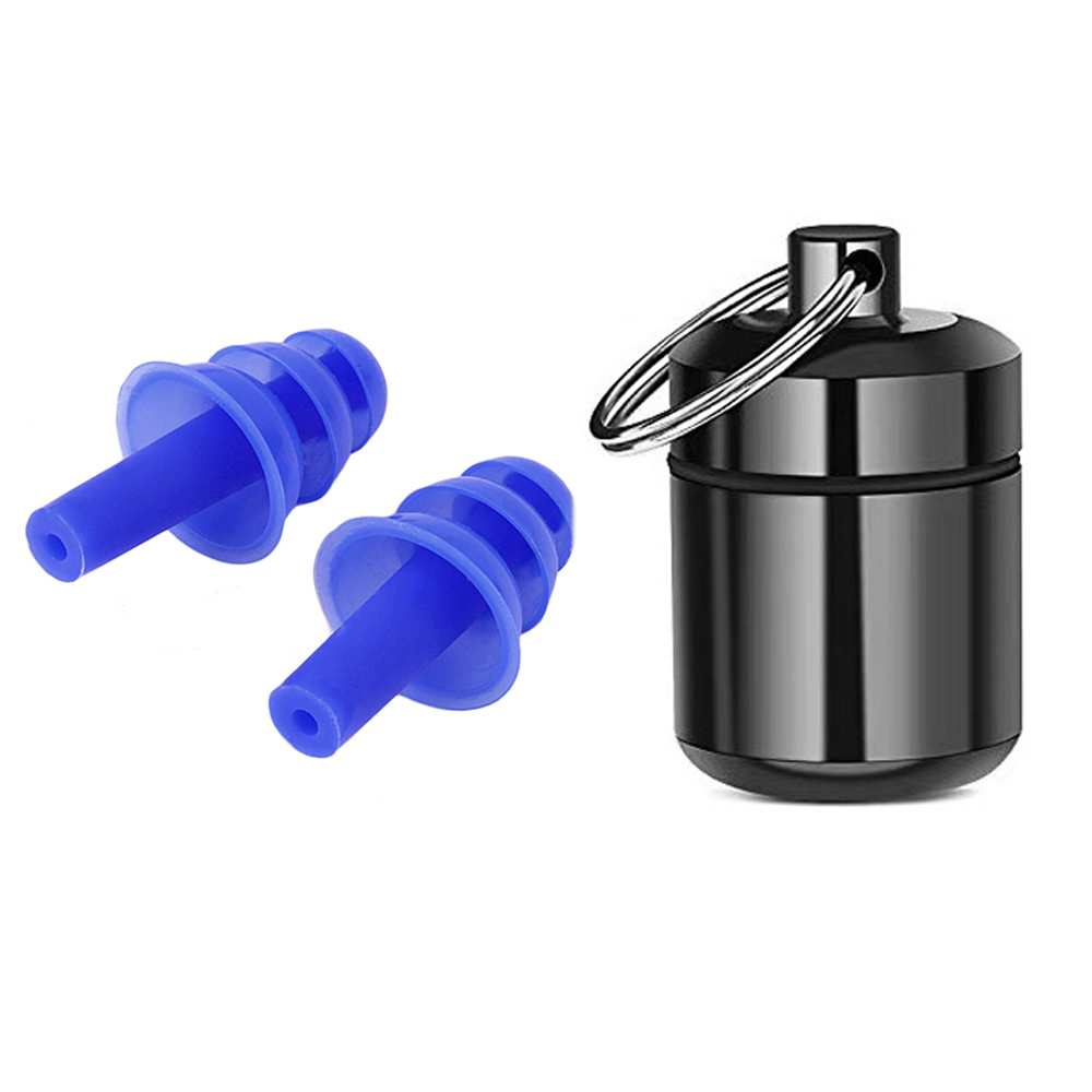 Silicone Noise Cancelling Hearing Protection Earplugs For Sleeping Musician Motorcycles Reusable Silicone Ear Plugs