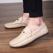 Leather Men Casual Shoes Brand Mens Loafers Moccasins Breathable Slip on Driving Shoes Slip-On Soft Flat Shoes New Peas Shoes * new men s octopus leather penny loafers crocodile slip on driving shoes mens casual shoes moccasins business boat shoes branded
