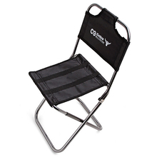 цена на Mountaineering Outdoor Fishing Backrest Chair Folding Small Size Chair Camping Hiking Chair Seat Stool