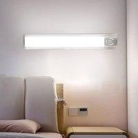 BRELOG light control human body cabinet light PIR long LED night light USB charging wardrobe light