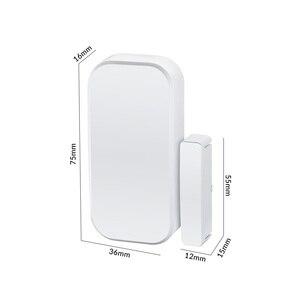 Image 5 - Fuers Wireless Home Tür Fenster Einbrecher Sicherheit Magnetische Sensor 433MHz Tür Detektor für KERUI Home office Sicherheit ALARM System