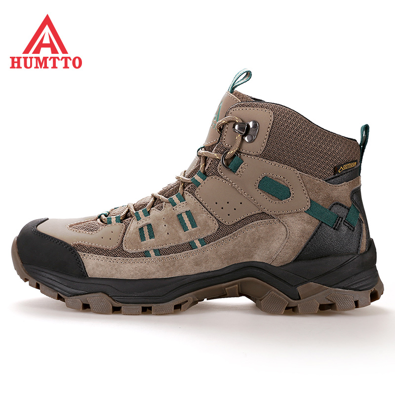 Water-proof climbing shoes for women in autumn and winter Men's Gaobang is breathable and wear-resistant outdoor hiking