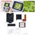 Подсветка комплекты ЖК-экранов для Nintend Гб ЖК-дисплеев Экран диметилглицын ГБ Ретро пикселей IPS ЖК экран комплект для сенсорного Gameboy 36 Цвет ...