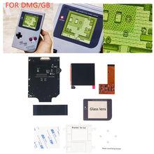 Luz Juegos de LCD para Nintend GB pantalla LCD DMG GB RETRO PIXEL IPS LCD KIT para Gameboy 36 Color Ajuste de brillo
