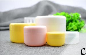 Image 4 - 10g/20g/50g/100g doldurulabilir şişeler plastik boş makyaj kavanoz Pot seyahat yüz krem/losyon/kozmetik konteyner ücretsiz kargo