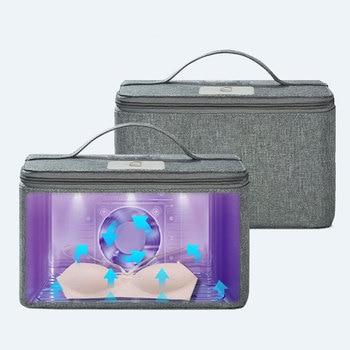 Large Capacity LED Ultraviolet Sterilizer Box Storage Bag Baby Bottle Clothing Baby Supplies Disinfection Cabinet Sterilization