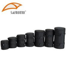 Bolso de cámara de alta calidad, funda de lente Kamera, resistente al agua, a prueba de golpes para Canon, Nikon, Sony, Protector de lente, cinturón para fotografía