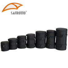High Quality Camera Bag Kamera Lens Pouch Case Waterproof Shockproof Box for Canon Nikon Sony Lens Protector Photography Belt