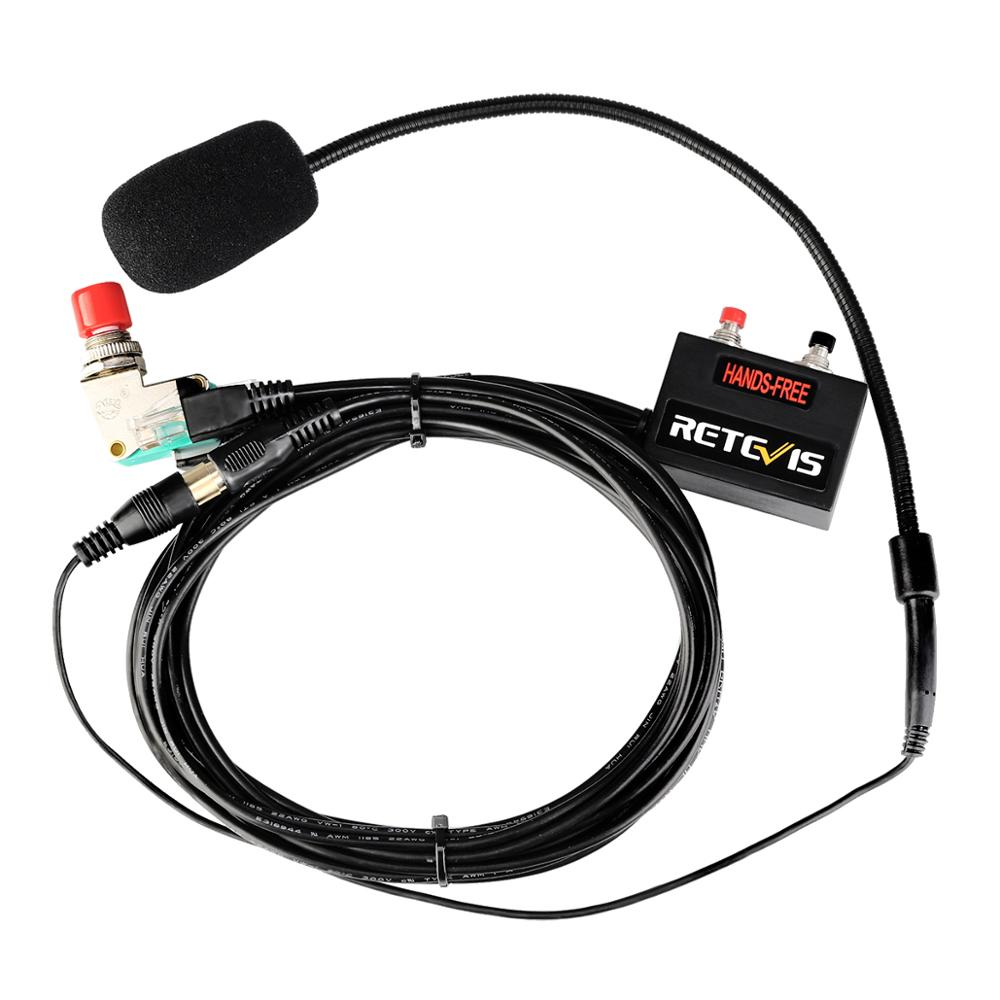 New Black Upgrade 6-core Finger PTT Microphone Car Radio Station Hands-free Headset for RT9000D MOTOROLA SMP-908