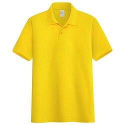 Летняя мужская деловая Повседневная футболка с коротким рукавом 7458