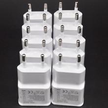 10 PÇS/LOTE 5V 2A Carga USB Carregador Adaptador de Parede de Viagem Para Samsung Galaxy S6 S7 Borda J3 J5 J7 Nota 4 5 A3 A5 A7 2016