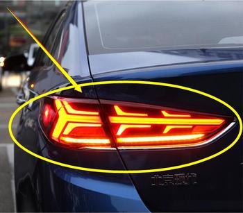 Dynamic car bumper tail light for Hyundai Sonata taillight 2018~2020y LED car accessories Taillamp for sonata rear light fog