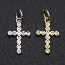 Jewellery Pendants Charms Necklace Zircon Making DIY 17x9mm Fashion 100%Cz