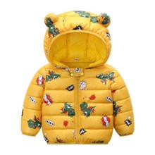 Kurtka dla niemowląt 2020 jesień kurtki zimowe dla dziewczynek płaszcz dzieci ciepłe kurtki płaszcz dla chłopców kurtki noworodka ubrania dla dzieci tanie tanio Moda Poliester COTTON Kids jacket Pasuje prawda na wymiar weź swój normalny rozmiar Czesankowej Unisex cotton+ployester