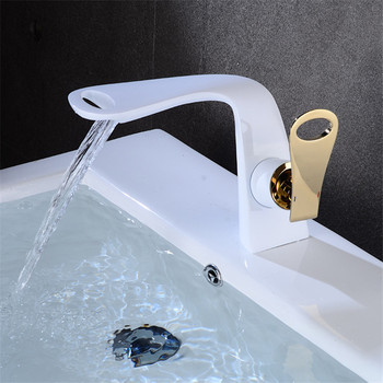 Basin Faucets Total Brass Bathroom Faucet Single handle Basin Mixer Tap Bath Gold Faucet Sink Water Crane Chrome New Arrivals