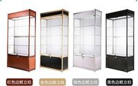 Counter smoke cabinet glass display cabinet cosmetics jewelry cabinet display cabinet shelf glass cabinet