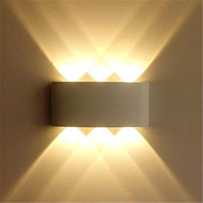 Night Light Outdoor LED Light LED Wall Light Durable Sturdy Aluminum IP65 Bedroom Living Room Flashlight Indoor