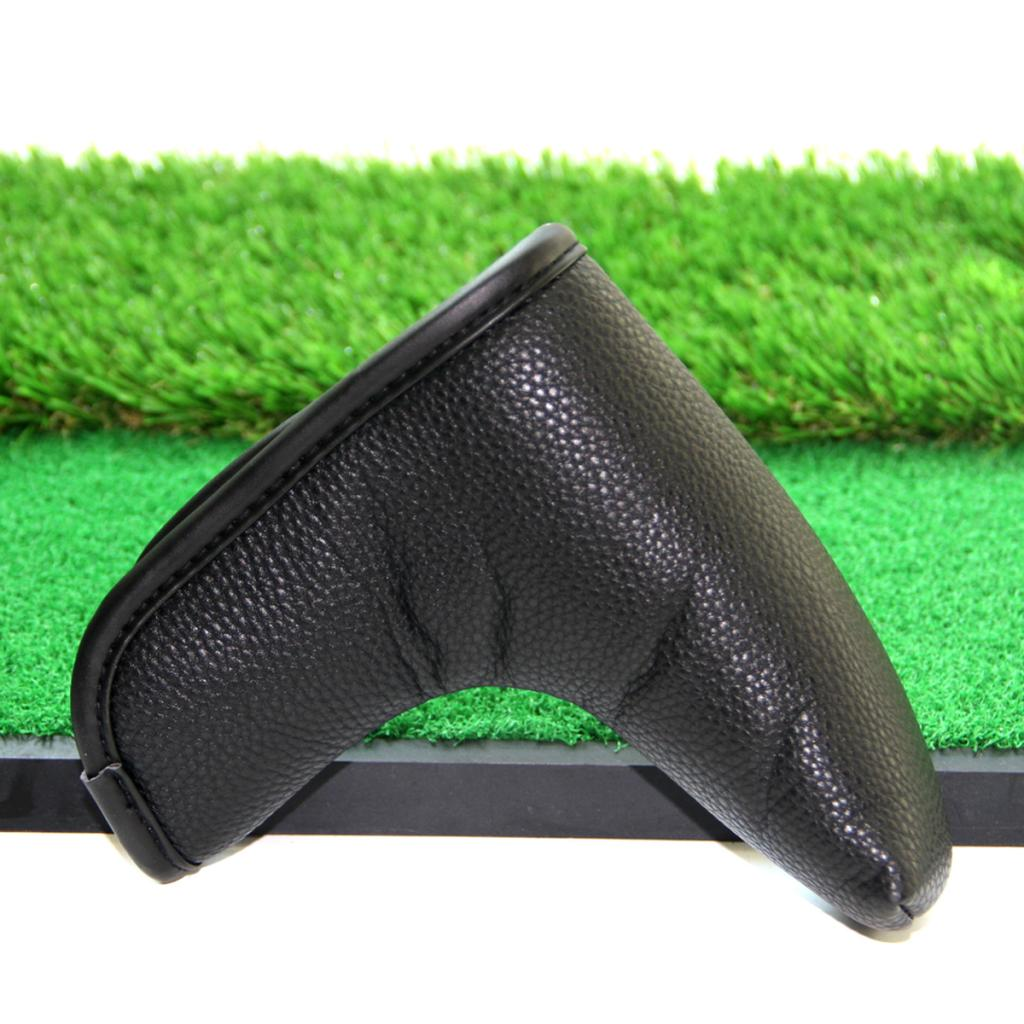 Golf Blade Putter Head Cover Headcover Protector Bag Club Cover Sleeve