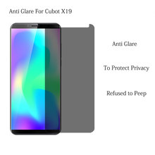 9H Privacy Gehard Glas Voor Cubot X18 X19 X18 Plus Anti Glare Screen Protector Voor Cubot P20 Power Anti spy Beschermende Flim(China)