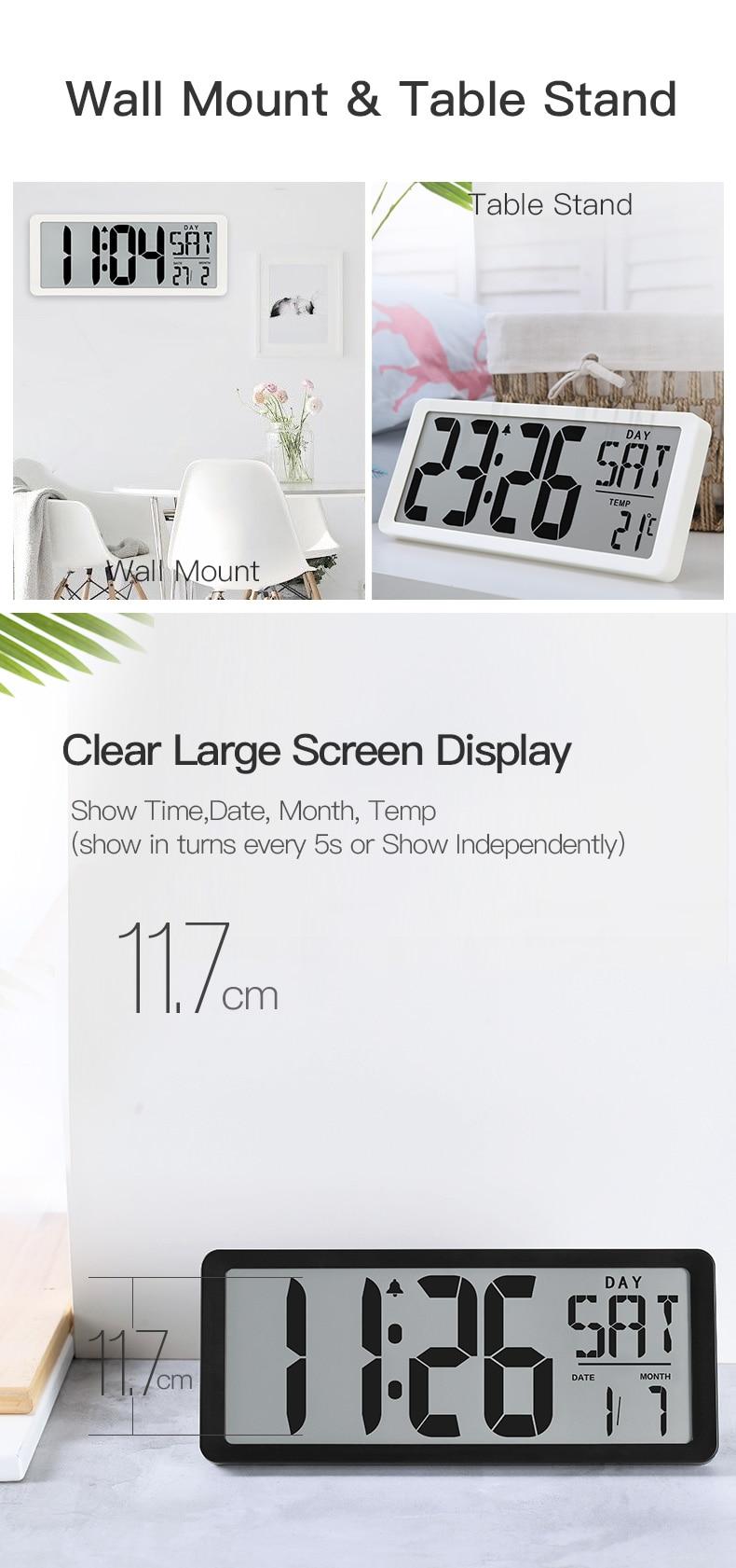 digital jumbo despertador 13.8