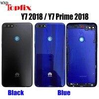Funda Original para Huawei Y7 2018, carcasa trasera para batería, para Y7 Pro 2018, para Huawei Y7 Prime 2018, L22, LX2, L21, LX3